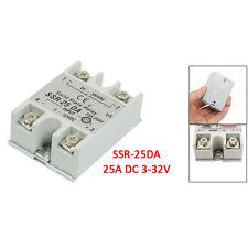 Temperature Control AC 24V-380V Output Solid State Relay 25A SSR-25DA