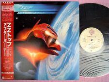 ZZ TOP LP - AFTERBURNER, JAPAN Pressung, OBI, MINT- WIE NEU !