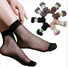Top quality 10 pair Women's Elastic Silk Socks Short Ankle high Stockings B17
