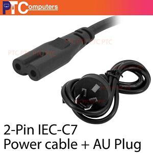 20X 2 Pin Core Figure 8 IEC-C7 AC Power Cord Cable Lead 120cm 1.2m