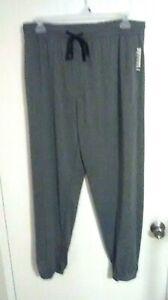 Open Trails Men's Heather Gray Lounge Pants - Elastic Waistband - Size: XL