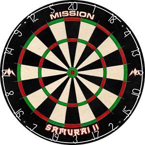 Mission Samurai II Professional Standard Dartboard
