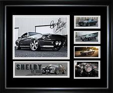 Shelby Mustang Signed Framed Memorabilia