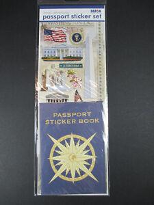 Passport Sticker Set Washington America, Various Sticker Passport, Photo Album