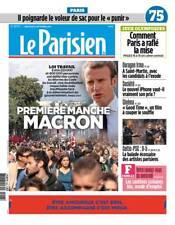 Le PARISIEN (75) n° 22713 du 13/9/2017*MACRON gagne contre RUE & CGT*iPhone PRIX