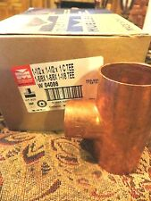 NEW Mueller Industries W04086 WT-600 Reducing Tee Wrot Copper Fitting