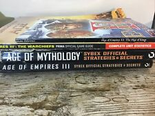 Job lot age of empires guide books Strategy guides