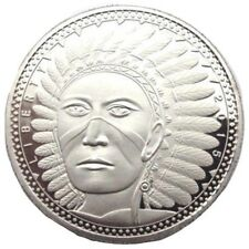 More details for coin souvenir proof collectors coin 2015 union of north america indian liberty