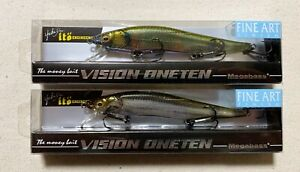 Megabass VISION110 ONETEN FINE ART Limited 2pc Japanese Special Painting Color