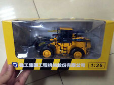New XCMG 1/35 Scale DieCast Model ZL50G Loading Machinery