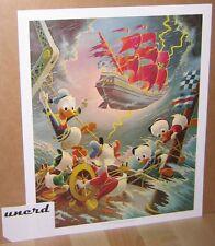 Carl Barks Kunstdruck: Afoul of the Flying Dutchman - Scrooge McDuck Art Print