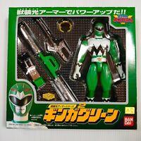 New! Power Rangers Lost Galaxy Seijuu Sentai Gingaman Ginga Green Ranger 1998