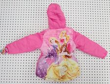 Disney Princess Girl's Puffer Jacket / Coat- Size 6