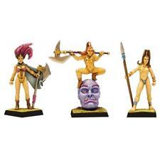 Fenryll Amazon Commandos x 3 Figures