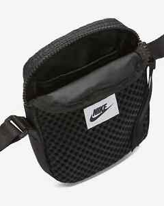 Nike Air Small Items Festival Crossbody Festival Bag Black White CU2611-010