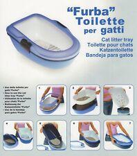 Lettiera toilette per gatti gatto furba autopulente con setaccio 59x39x22