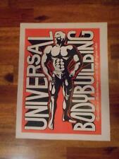 UNIVERSAL BODYBUILDING muscle workout advertisement catalog