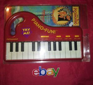 1995 Hal Leonard Piano Fun EZ Play Songbook Keyboard Disney POCAHONTAS RARE NEW