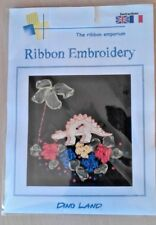 Ribbon Embroidery Kit - Dino Land - Dinosaur