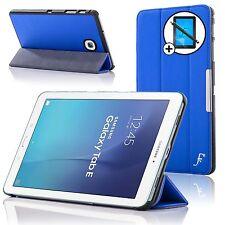 Piel Azul Funda Samsung Galaxy Tab E 9.6 T560 Protector De Pantalla Lápiz Óptico