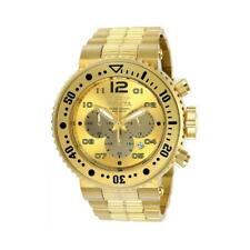Invicta Men 52mm Combat Seal 500m Pro Diver Chronograph 18kgip SS Bracelet Watch