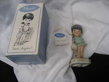 Moppets girl tennis anyone 1974 Gorham Fran Mar in original box and papers