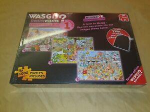 Wasjig Destiny Puzzles collectors box volume 1 New & Sealed (3 puzzles)