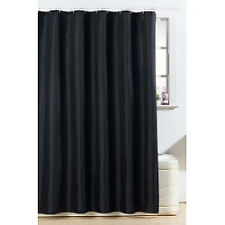 Sc500bk Blue Canyon Black Polyester Diamante Shower Curtain X 1