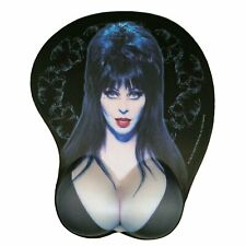 Elvira Mouse Pad Mistress Dark Horror Movie Goth Vampire Office Collectible Gift