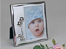 moderne ENFANTS CADRE PHOTO CADRE PHOTO ours en aluminium argent 10x15 cm