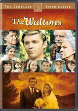 THE WALTONS COMPLETE SEASON 5 Sealed New 5 DVD Set