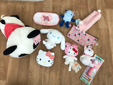 Hello Kitty Kawaii Bundle Plush Lot Cute Panda My Melody Cinnamoroll Sanrio