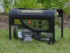 Quiet Gas Powered Portable Generator Lightweight RV Best Camping Tailgate Pull
