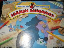Where in the World is Carmen Sandiego? Board Game Mystery Geography Trivia