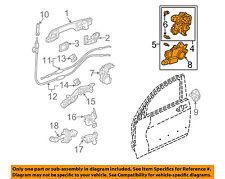 HONDA OEM 04-07 Accord Rear Door-Lock or Actuator Latch Release 72652SDAA01