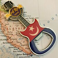 Hard Rock Cafe HRC Hotel HRH DESARU COAST Malaysia Button Pin NEW Rock Star