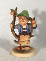 "Goebel Hummel Figurine 143 3/0  ""Apple Tree Boy"" Full Bee TMK3 Germany 4"""