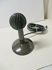 Unknown Brand Crystal Microphone R-64674 With Stand Radio/ Phono Combo Use?