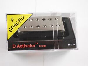 DiMarzio F-spaced D Activator Bridge Humbucker W/Nickel Cover DP 220
