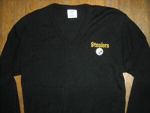 VTG 70S YOUTH XL PITTSBURGH STEELERS FOOTBALL NFL SWEATER JERSEY SHIRT