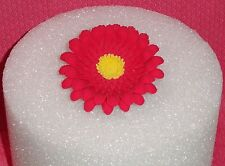 Daisy,Gerber,Red,3in.Gum Paste,Floral Cake Decoration,DecoPac,Topper