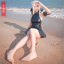 Fgo Fate/GrandOrder Saber School Swimsuit Swimwear Clothing Prop Daily Customizd