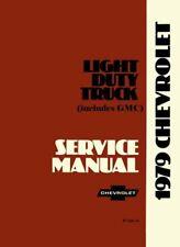 Oem Repair Maintenance Shop Manual Bound for Chevy Truck C/K 10-30 Series 1979