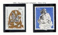 19176) UNITED NATIONS (New York) 1984 MNH** Refugee