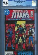 CGC 9.6 TALES OF THE TEEN TITANS #44 WHITE PAGES 1ST NIGHTWING JERICHO
