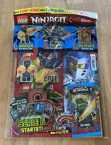 LEGO Ninjago - Magazin Nr. 71 mit Erd-Ninja Cole und LE8 Shintaro Kai