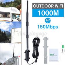 1000m Outdoor WiFi Extender USB2.0 Adapter 802.11b/g/n WiFi Antenna Amplifier ₪