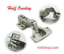 "Dia 1.5""/35mm Hydraulic soft close Half Overlay Hinge for storage cabinet door"