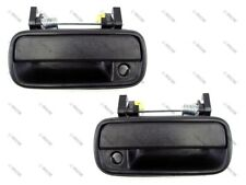 89-95 Toyota Pickup/4Runner/HiLux Outside Door Handle, Black, Front PAIR