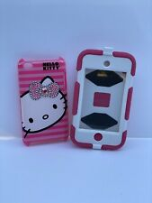 iPod Touch 4th Generation Hard/Silicone w/ Clip Case